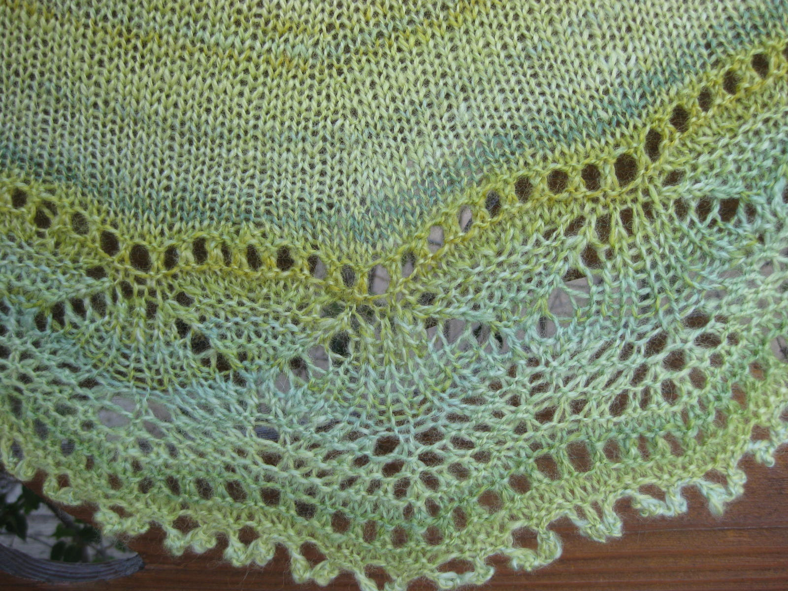 How The West Was Spun: FO: Cladonia Shawl