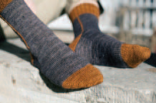 Hessian Boot Socks 2