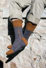 Hessian Boot Socks 1